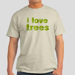 I Love Trees Light T-Shirt