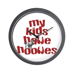 My Kids have Hooves Wall Clock