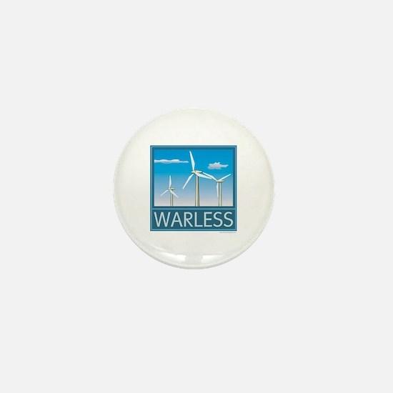 Windpower No War Mini Button