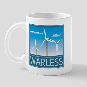 Windpower No War Mug