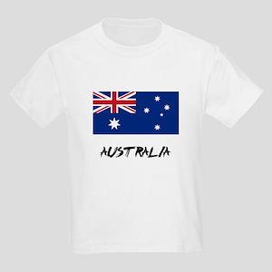 Australia Flag Kids Light T-Shirt