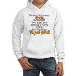 Goats and Cake Hooded Sweatshirt
