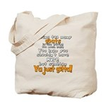 Goats and Cake Tote Bag