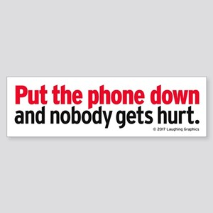 Phone Bumper Sticker