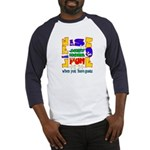 Life is Fun with Goats Baseball Jersey