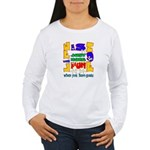 Life is Fun with Goats Women's Long Sleeve T-Shirt