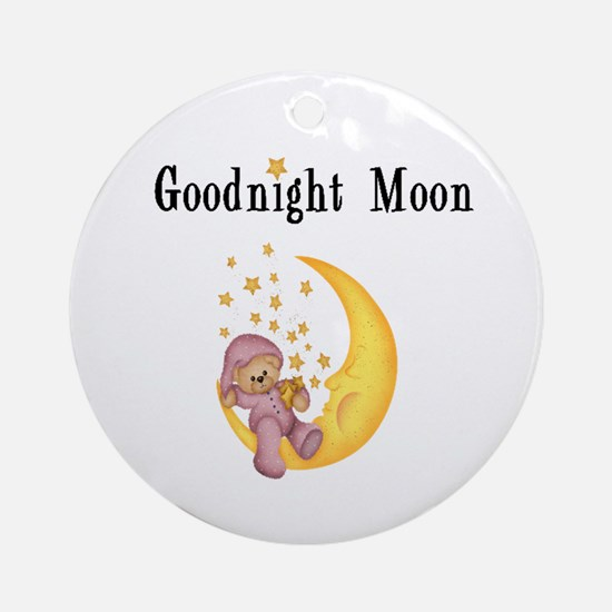 Good Night Moon Ornament (Round)