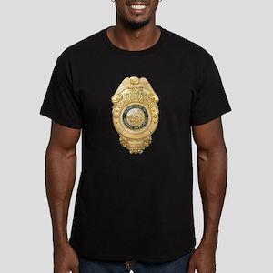 Indiana Game Warden Men's Fitted T-Shirt (dark)