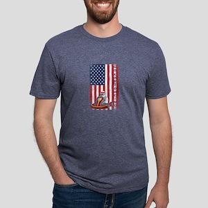 Go Kart Racing American Flag Karts Motors T-Shirt