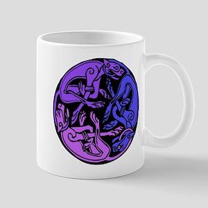 Celtic Chasing Hounds 1d Mug