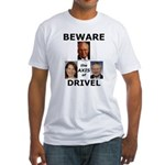 Axis of Drivel Fitted T-Shirt