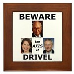Axis of Drivel Framed Tile
