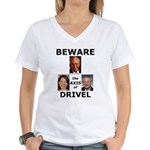 Axis of Drivel Women's V-Neck T-Shirt