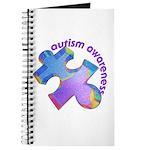 Pastel Autism Puzzle Journal