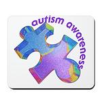 Pastel Autism Puzzle Mousepad
