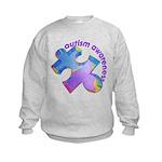 Pastel Autism Puzzle Kids Sweatshirt