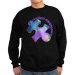 Pastel Autism Puzzle Sweatshirt (dark)