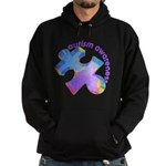 Pastel Autism Puzzle Hoodie (dark)