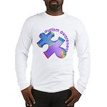 Pastel Autism Puzzle Long Sleeve T-Shirt