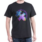 Pastel Autism Puzzle Dark T-Shirt