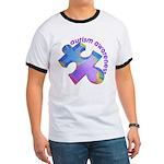 Pastel Autism Puzzle Ringer T