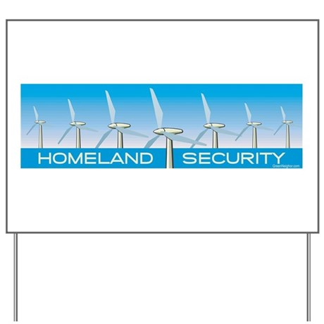 Wind Power for America Yard Sign