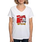 GoatLand Women's V-Neck T-Shirt
