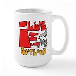 GoatLand Large Mug