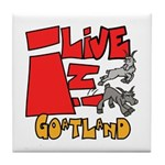 GoatLand Tile Coaster