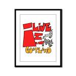 GoatLand Framed Panel Print