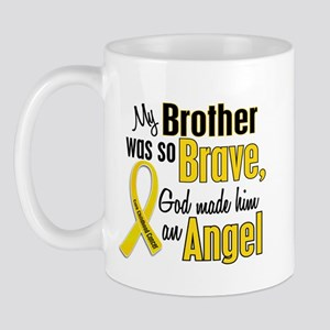 Angel 1 BROTHER Child Cancer Mug