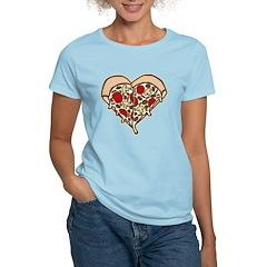 Pizza Heart Women's Light T-Shirt