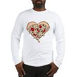 Pizza Heart Long Sleeve T-Shirt