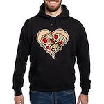 Pizza Heart Hoodie (dark)