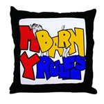 MyBarn Shy Goat Throw Pillow