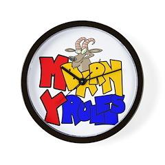 MyBarn Mad Goat Wall Clock
