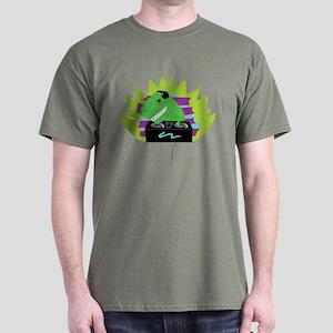 Dj-asaurus Rex Dark T-Shirt