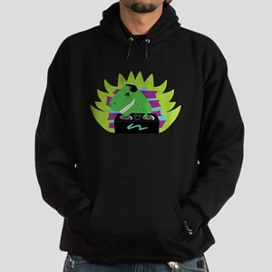 Dj-asaurus Rex Hoodie (dark)