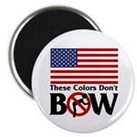 """No Bow 2.25"""" Magnet (10 pack)"""