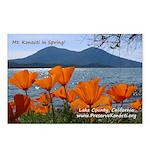 Postcards (Package of 8) - Mt. Konocti in Spring