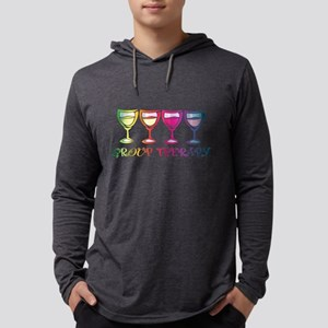Wine Group Therapy 2 Long Sleeve T-Shirt