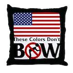 No Bow Throw Pillow