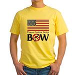 No Bow Yellow T-Shirt