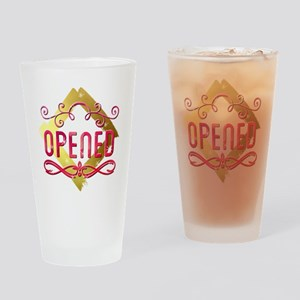 Opened Drinking Glass