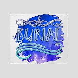 Burial Throw Blanket