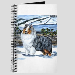 Shetland Sheepdog Blue Merle Journal