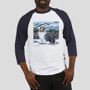 Shetland Sheepdog Blue Merle Baseball Jersey