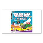 OneBigMob Sci-Fi Comics Rectangle Sticker
