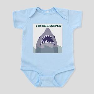 SHARK ATTACK  Infant Creeper