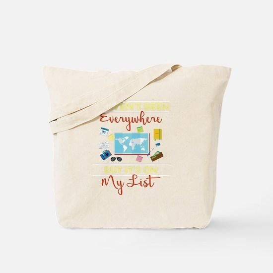 Cute List Tote Bag